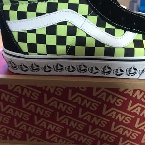 Vans Shoes - Vans BMX Sk8-Hi Shoes Checkered Men's 10.5